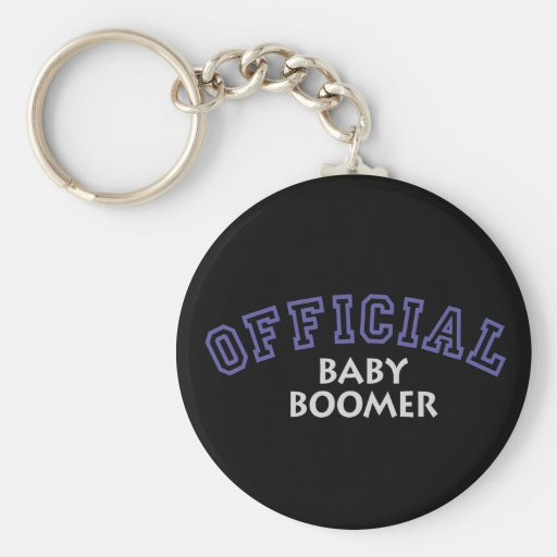 Offical Baby Boomer - Blue Key Chain