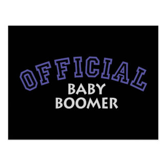 Offical Baby Boomer - Blue Postcard