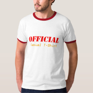 Offical Casual T-shirt