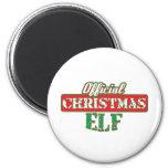 Offical Christmas Elf - Santa's Helper Fridge Magnets
