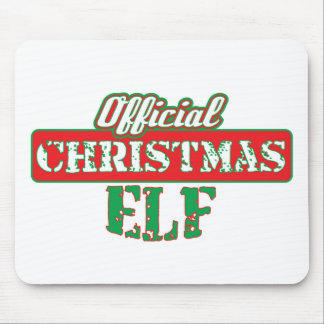 Offical Christmas Elf - Santa's Helper Mouse Pad