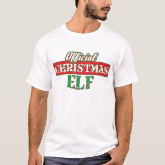 Offical Christmas Elf - Santa's Helper T-Shirt