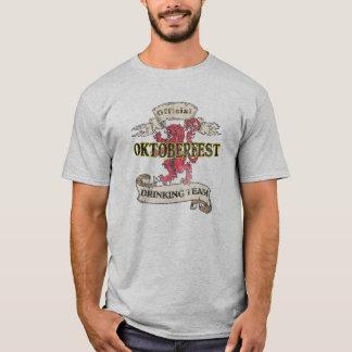 Offical Oktoberfest Drinking Tshirt