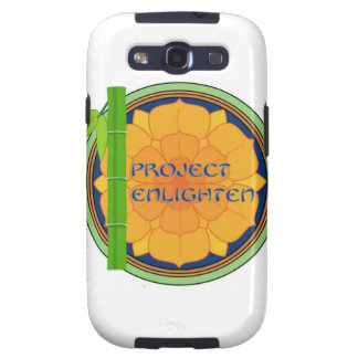 Offical Project Enlighten Merchandise Samsung Galaxy SIII Covers