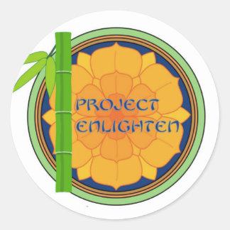 Offical Project Enlighten Merchandise Classic Round Sticker