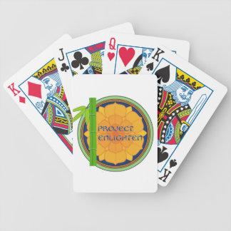 Offical Project Enlighten Merchandise Card Deck