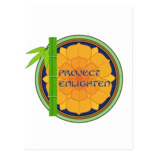Offical Project Enlighten Merchandise Postcard