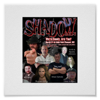 Offical Shadow Con 2009 Poster