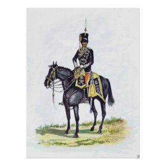 Office 11th Prince Albert Own Hussars Poster