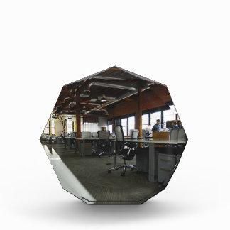 office acrylic award