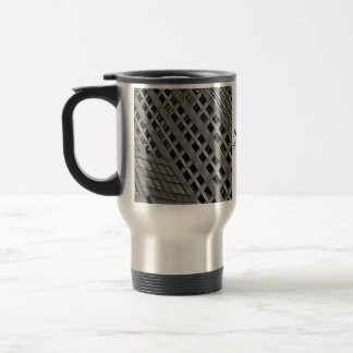 Office architecture on the diagonal travel mug
