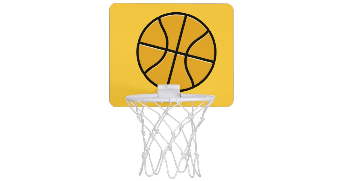 Office Basketball Hoop Net Zazzle Com