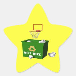 Office Basketball Star Sticker