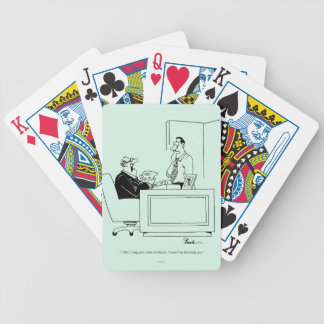 Office Blame Bicycle Playing Cards
