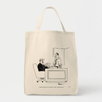 Office Blame Canvas Bags