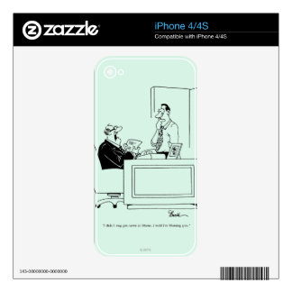 Office Blame Decal For iPhone 4