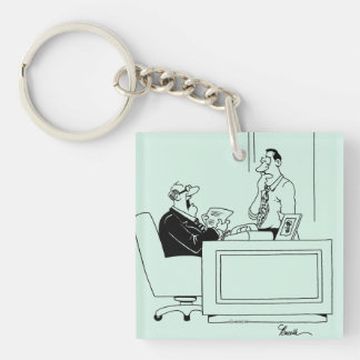 Office Blame Keychains
