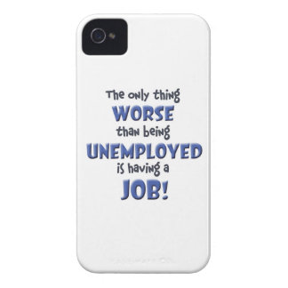 Office Blues iPhone 4 Case