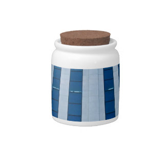 Office building architecture candy jars