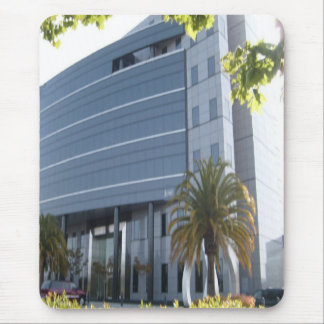Office building mousepad
