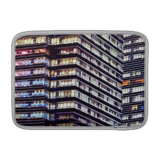 Office buildings at night, Singapore MacBook Air Sleeves