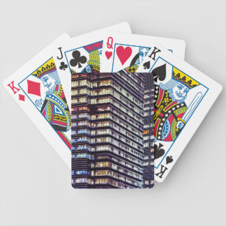 Office buildings at night, Singapore Deck Of Cards