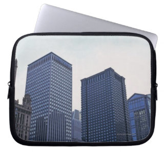Office buildings in downtown Chicago, Illinois Laptop Computer Sleeve