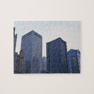Office buildings in downtown Chicago, Illinois Jigsaw Puzzle