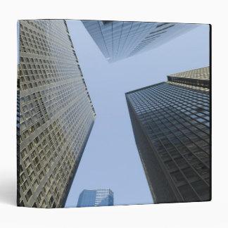 Office Buildings in Lower Manhattan Binders