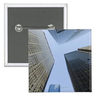 Office Buildings in Lower Manhattan Pinback Button