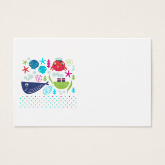 Office card with Kids mare theme
