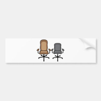 Office Chairs Bumper Sticker