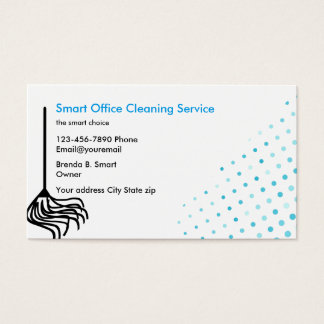 Industrial Cleaning Services Business Cards & Templates | Zazzle