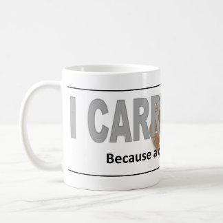 Office cop coffee mug