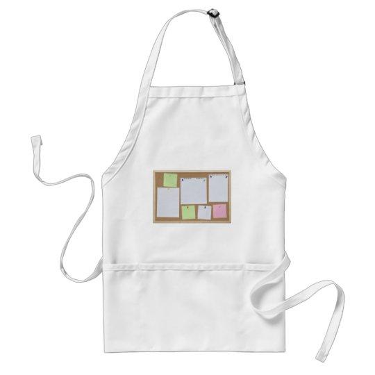office cork board adult apron