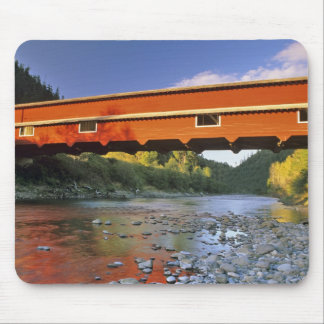 Office Covered Bridge the longest in Oregon at 2 Mouse Pad