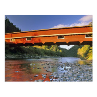 Office Covered Bridge the longest in Oregon at 2 Postcard