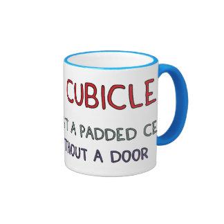 Office Cubicle Joke Mug