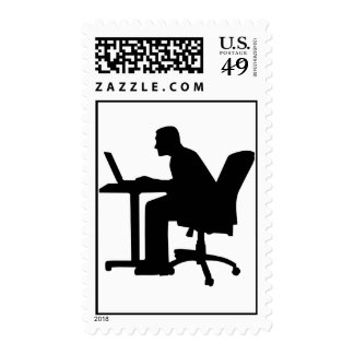 Office desk computer postage