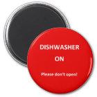 Office Dishwasher Notices Magnet