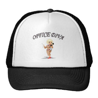 OFFICE DIVA TRUCKER HAT