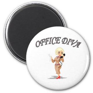 OFFICE DIVA FRIDGE MAGNET