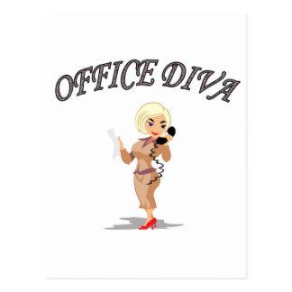 OFFICE DIVA POSTCARD