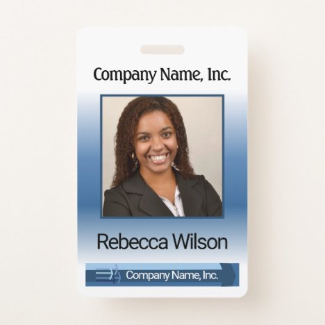 Office Employee Picture Badge