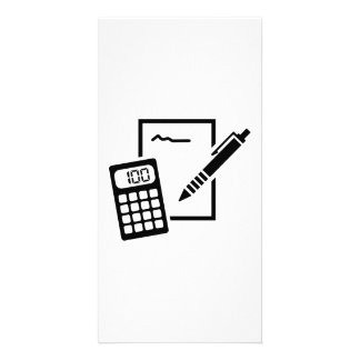 Office equipment photo card template