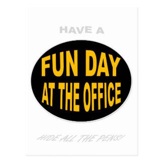 OFFICE FUN POSTCARDS