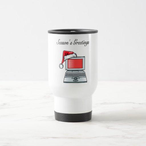 Office Greetings (Computer) Coffee Mug