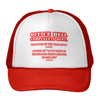 Office Hell - Employee Award (1) Trucker Hat