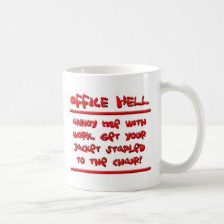 Office Hell - Stapler Incident. Coffee Mug