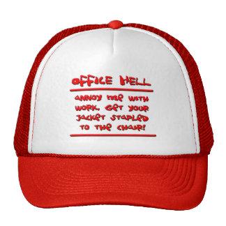 Office Hell - Stapler Incident. Trucker Hat